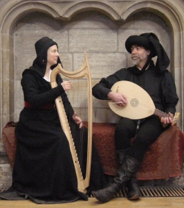 Gothic harp and lute